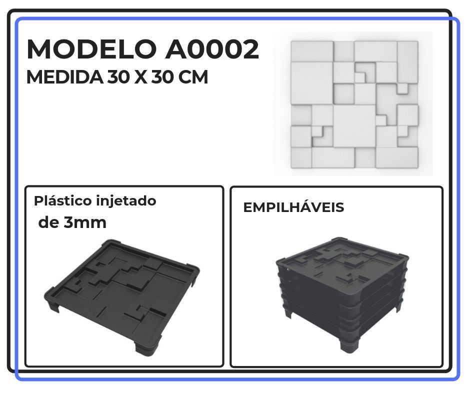 Modelo A0002 30 x 30 cm