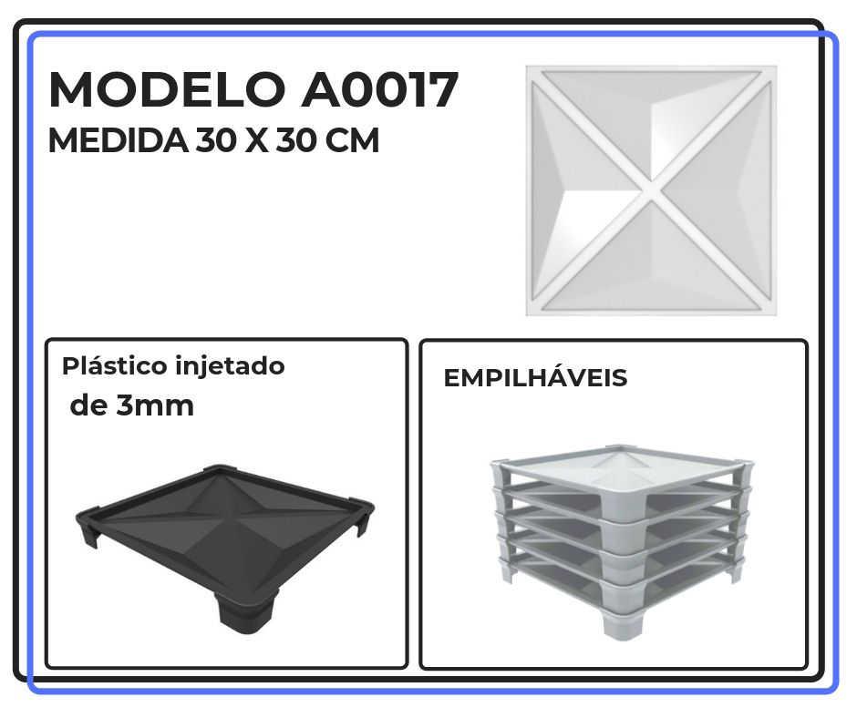 Modelo A0017 30 x 30 cm