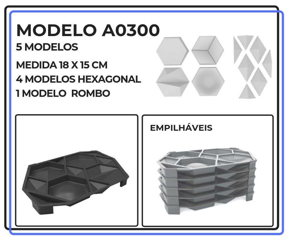 Modelo A0300 18 x 15 cm