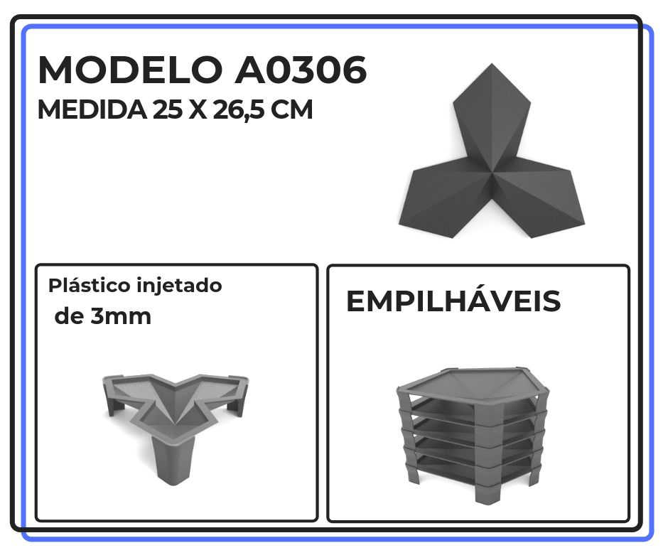 Modelo A0306 25 x 26,5 cm