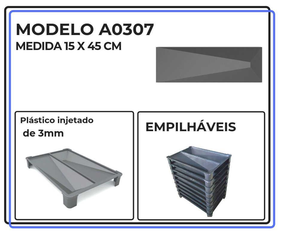Modelo A0307 15 x 45 cm