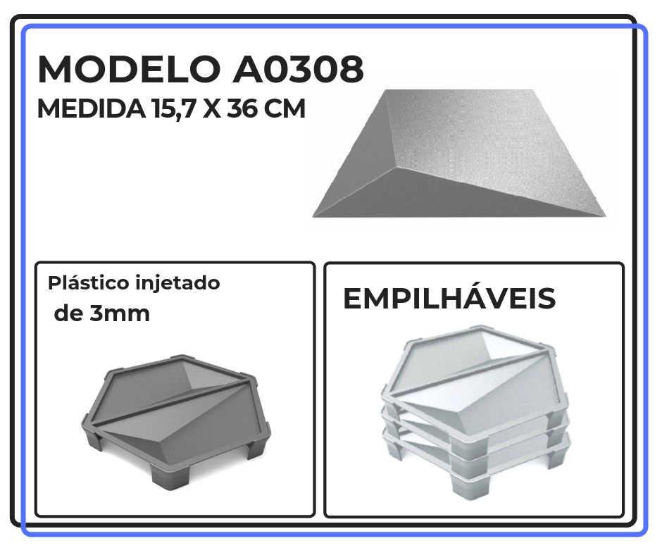 Modelo A0308 15,7 x 36 cm