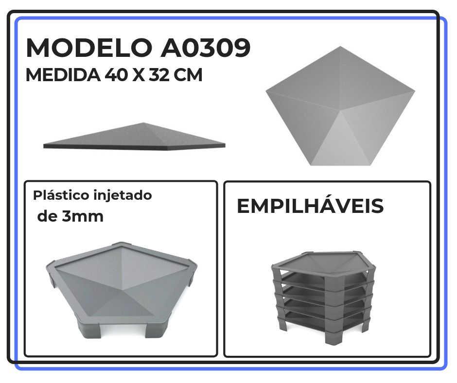 Modelo A0309 40 x 32 cm
