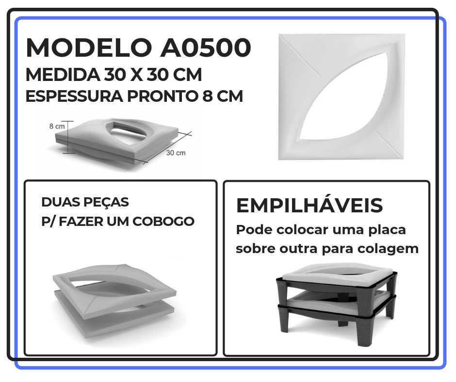 Modelo A0500 30 x 30 cm