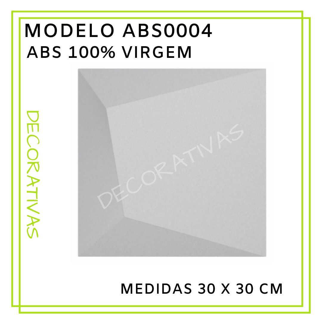Modelo ABS0004 30 x 30 cm