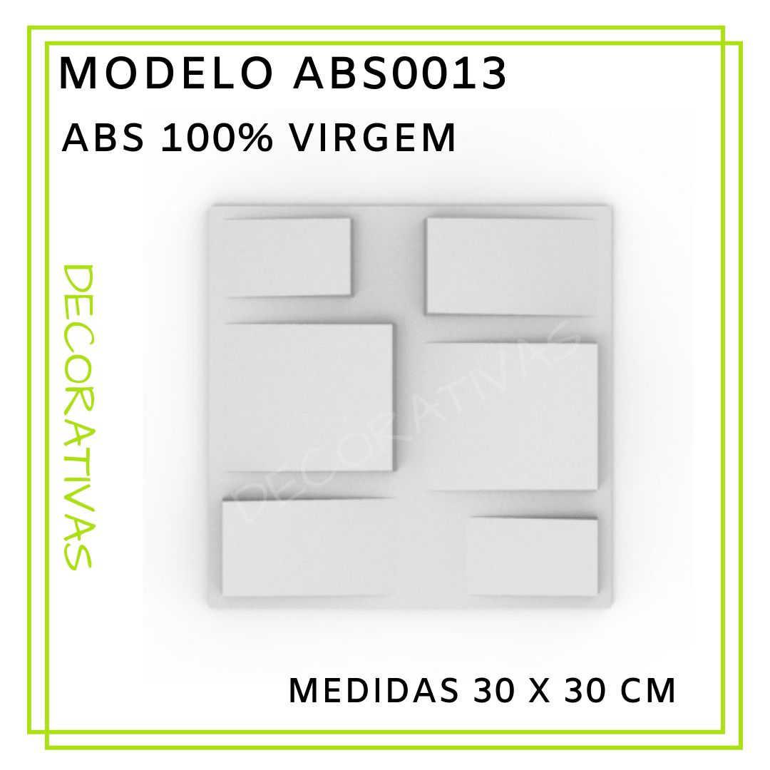 Modelo ABS0013 30 x 30 cm