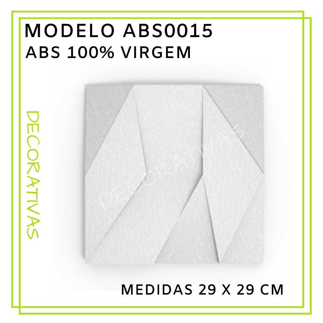 Modelo ABS0015 29 x 29 cm