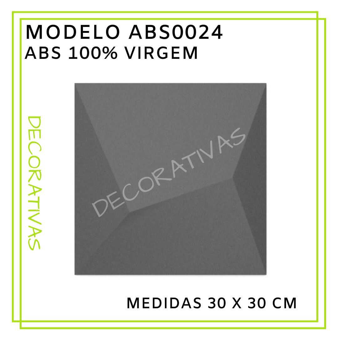 Modelo ABS0024 30 x 30 cm