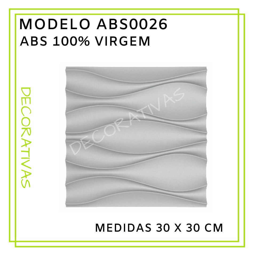 Modelo ABS0026 30 x 30 cm