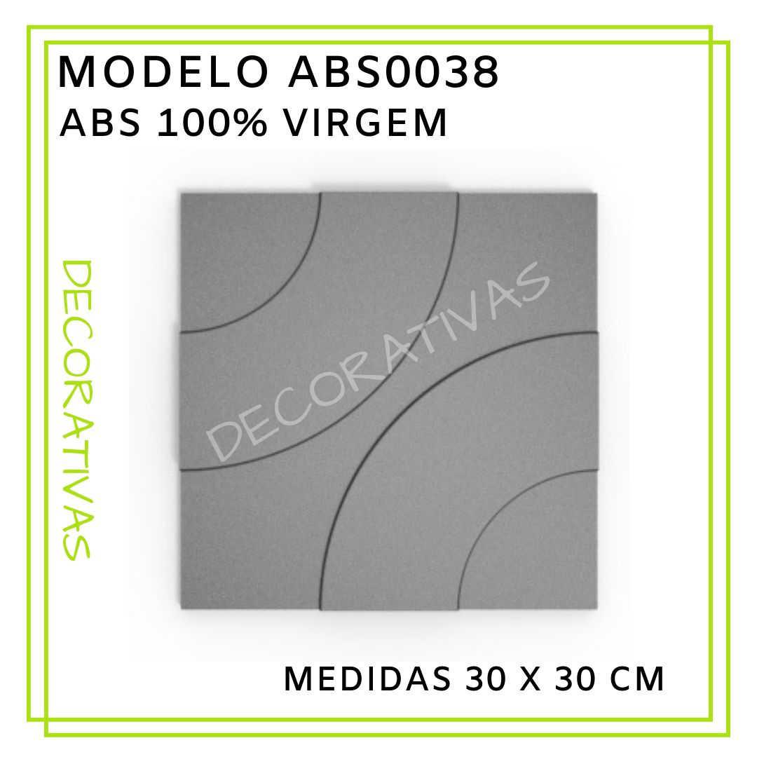 Modelo ABS0038 30 x 30 cm