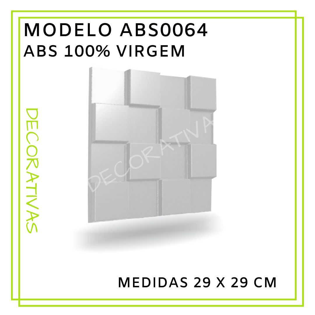 Modelo ABS0064 29 x 29 cm