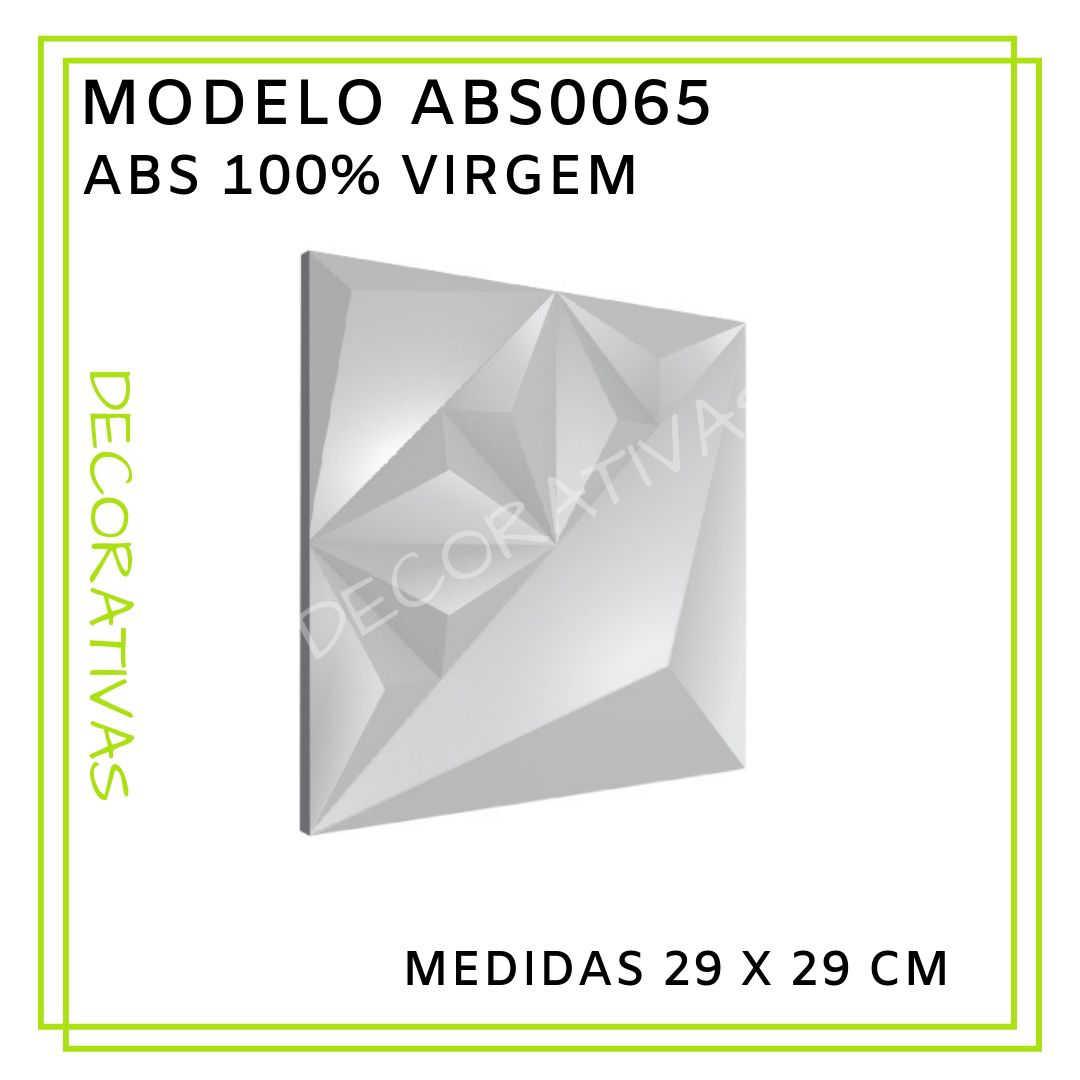 Modelo ABS0065 29 x 29 cm