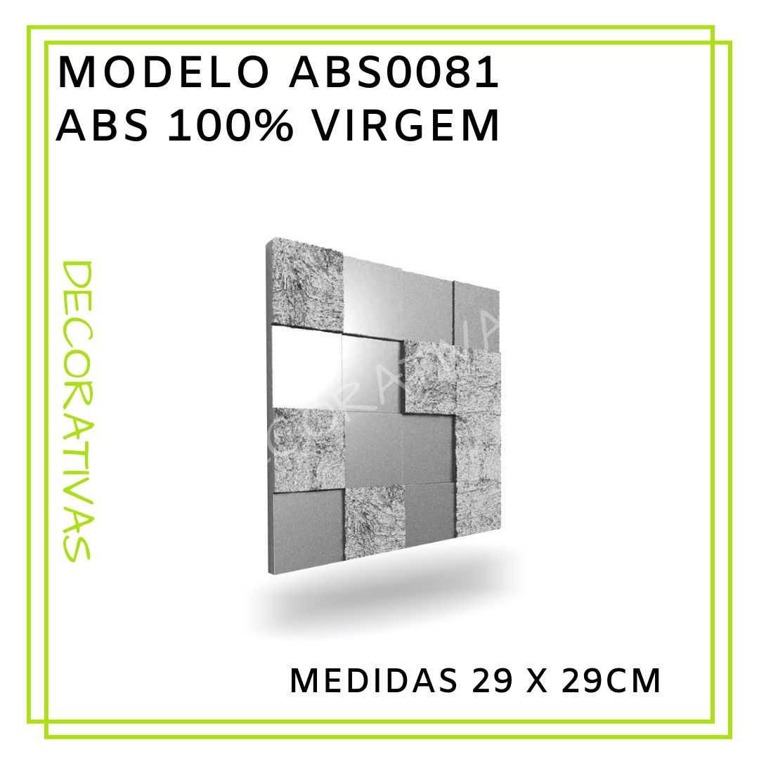 Modelo ABS0081 29 x 29 cm