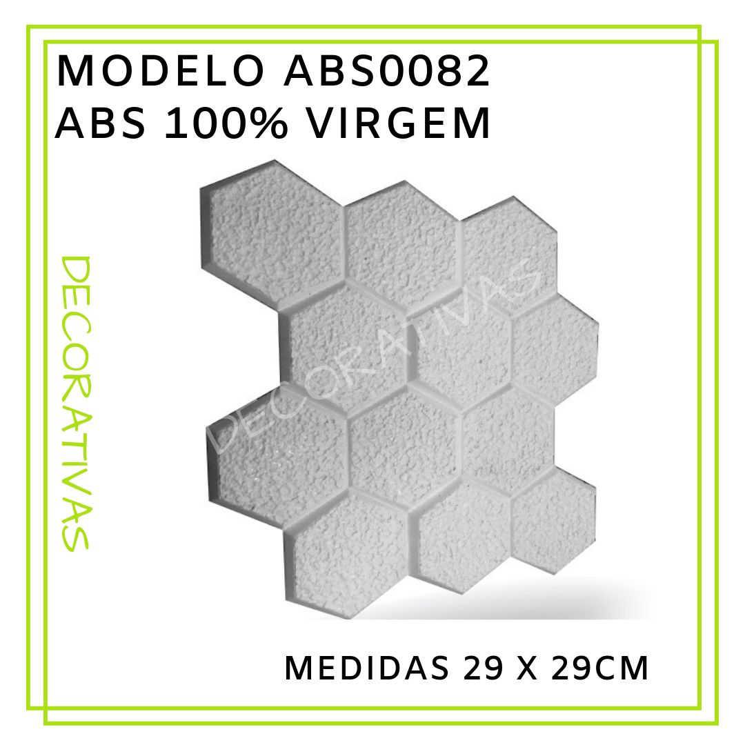 Modelo ABS0082 29 x 29 cm