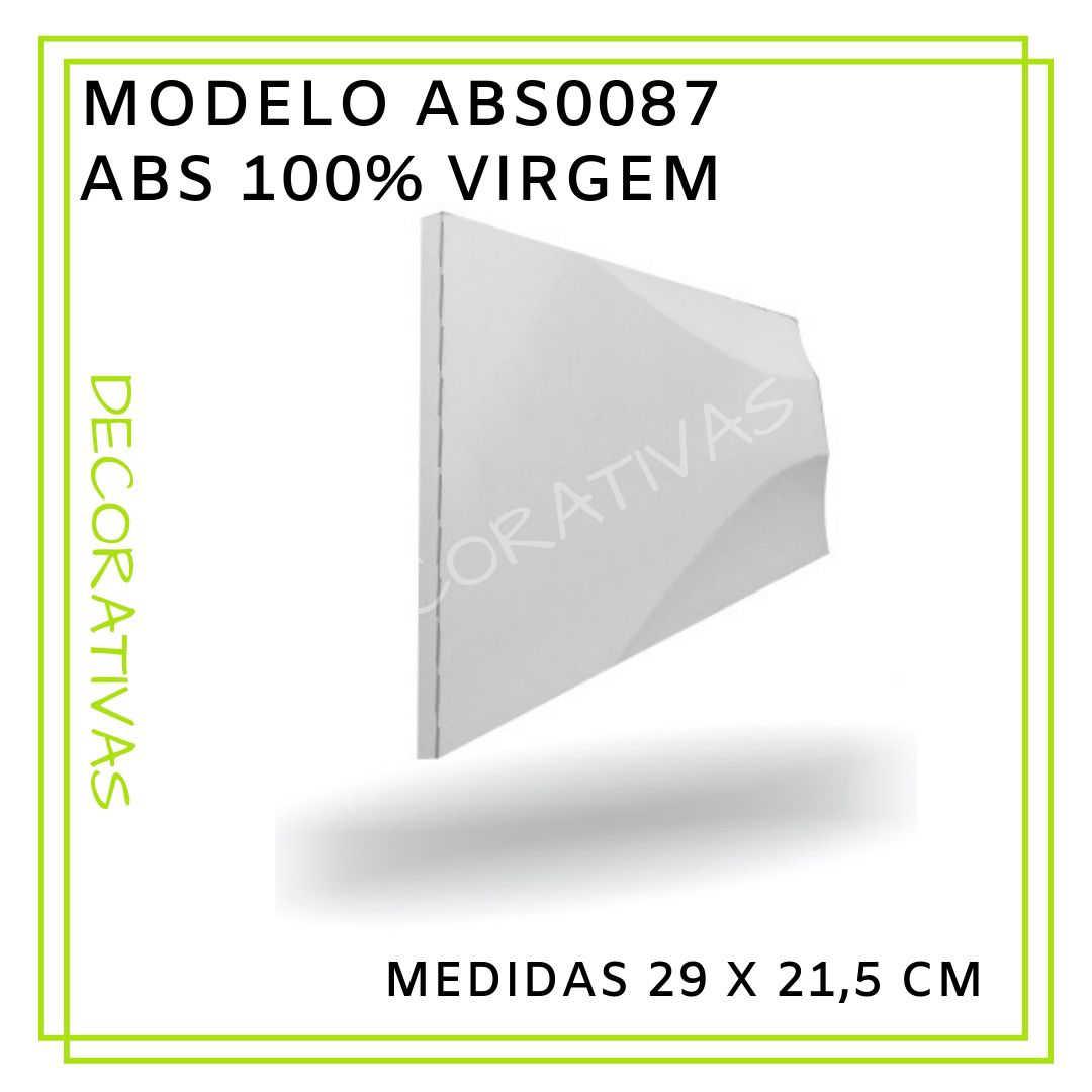 Modelo ABS0087 29 x 21,5 cm