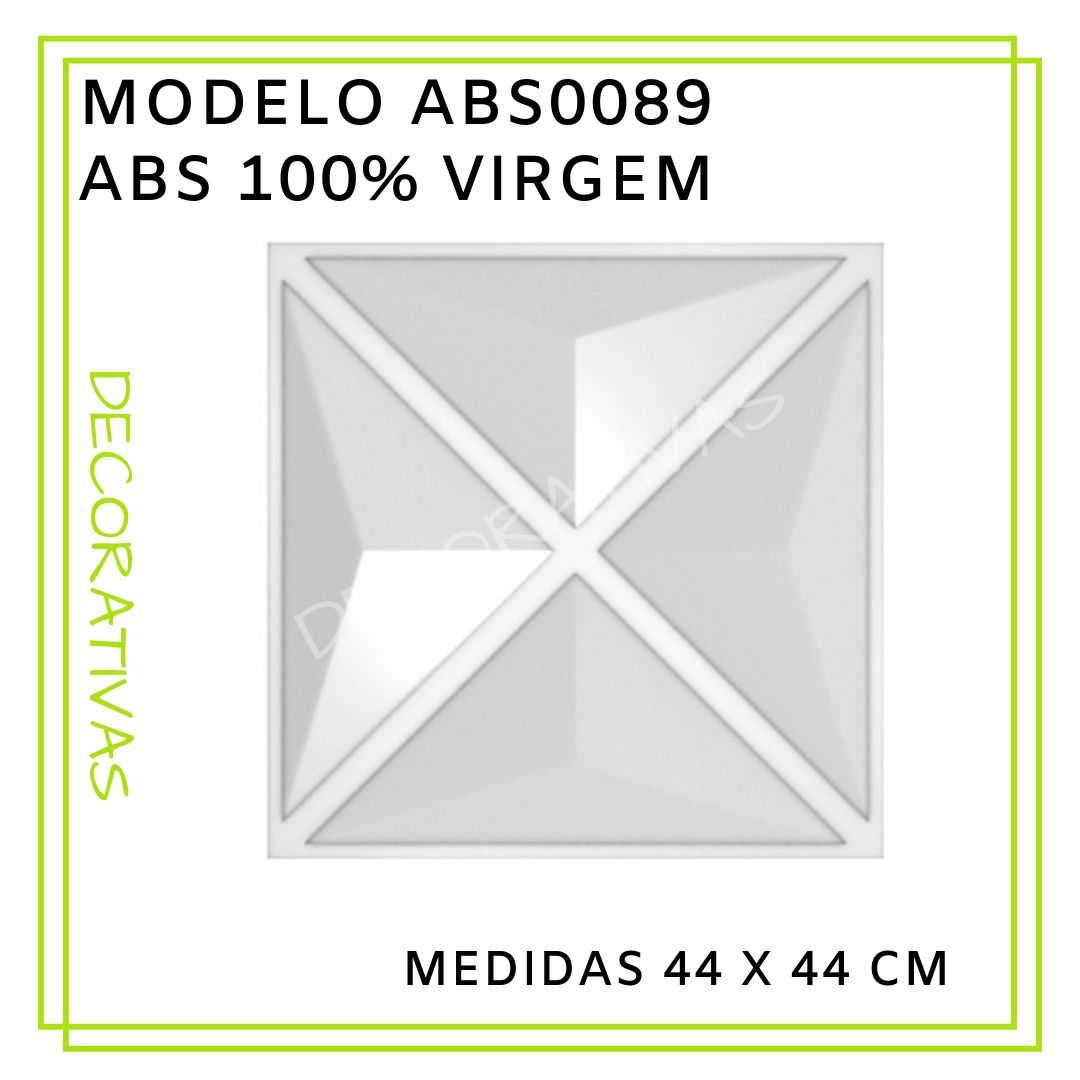 Modelo ABS0089 44 x 44 cm