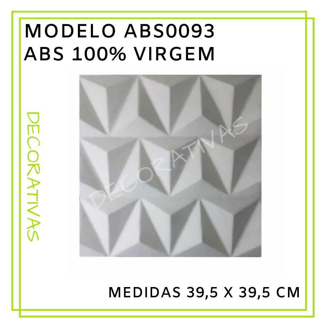 Modelo ABS0093 39,5 x 39,5 cm
