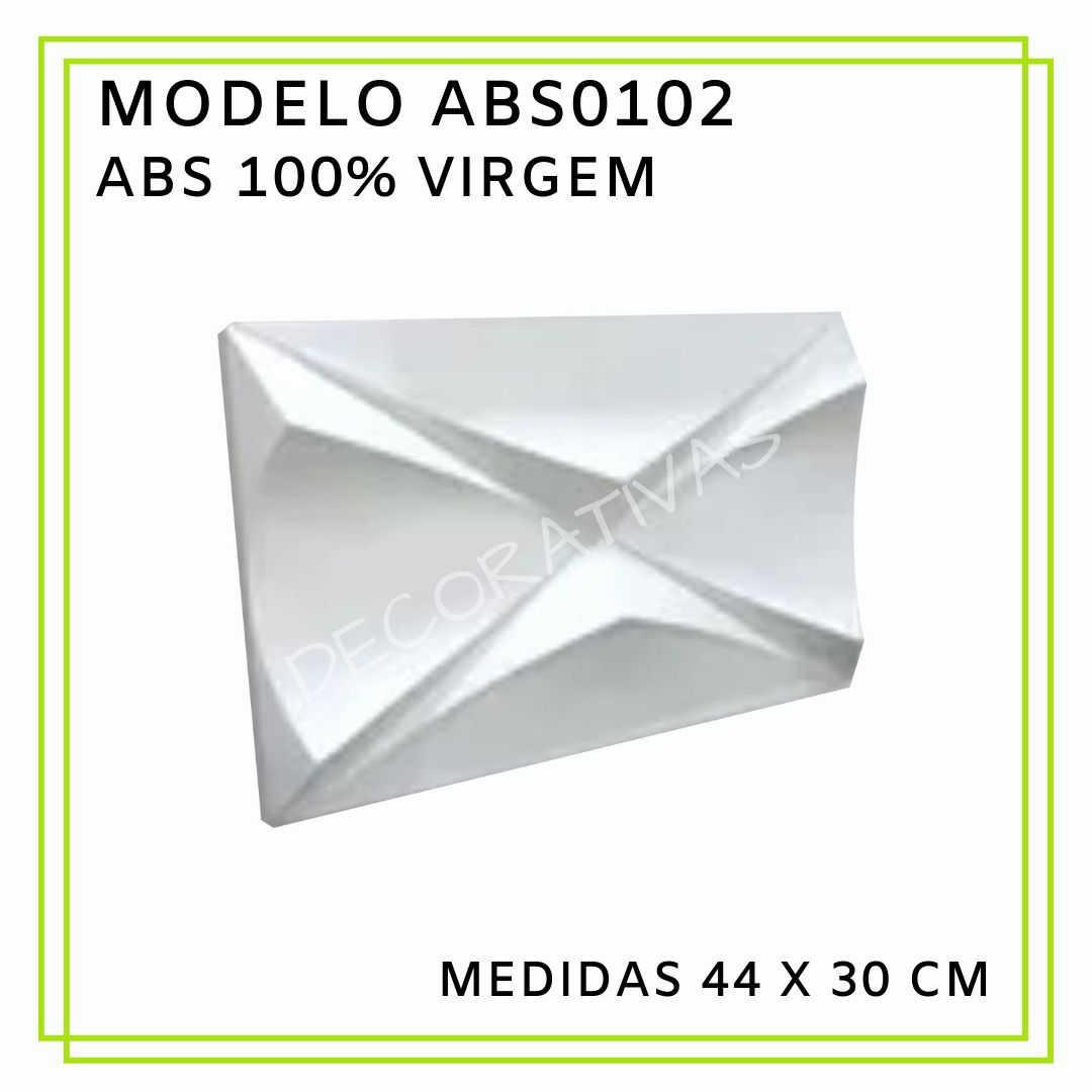 Modelo ABS0102 44 x 30 cm