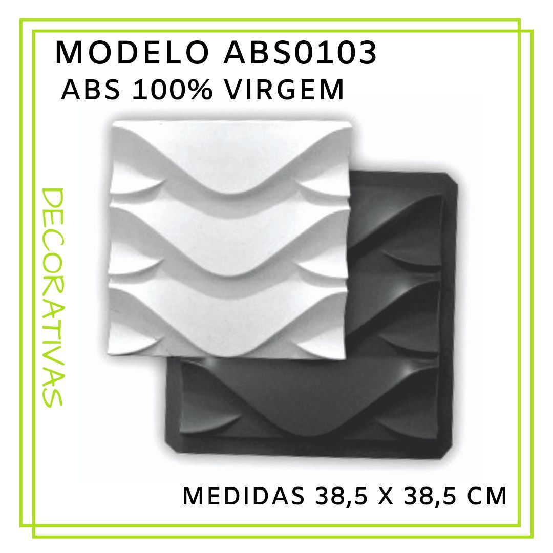 Modelo ABS0103 38,5 x 38,5 cm
