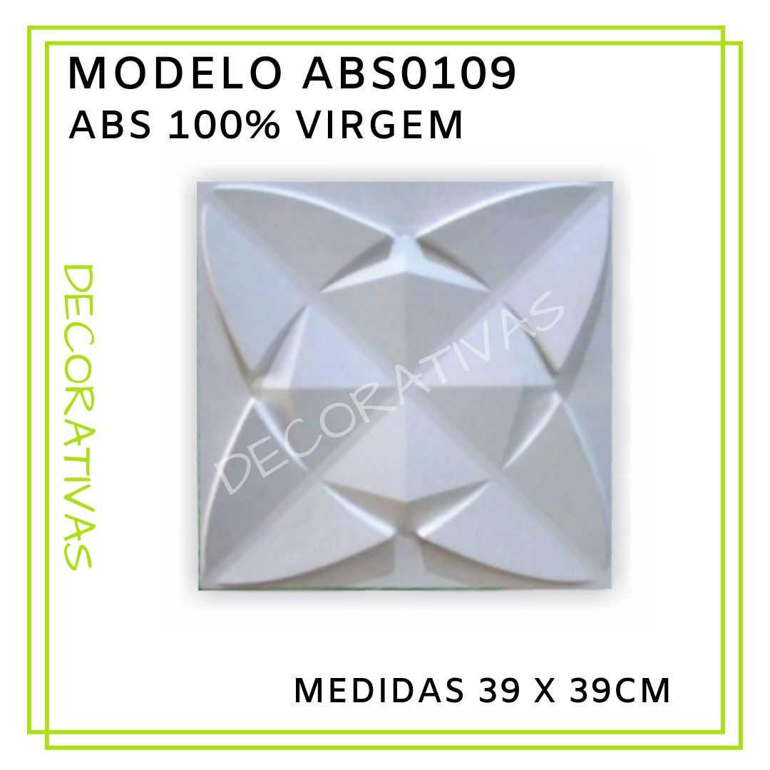 Modelo ABS0109 39 x 39 cm