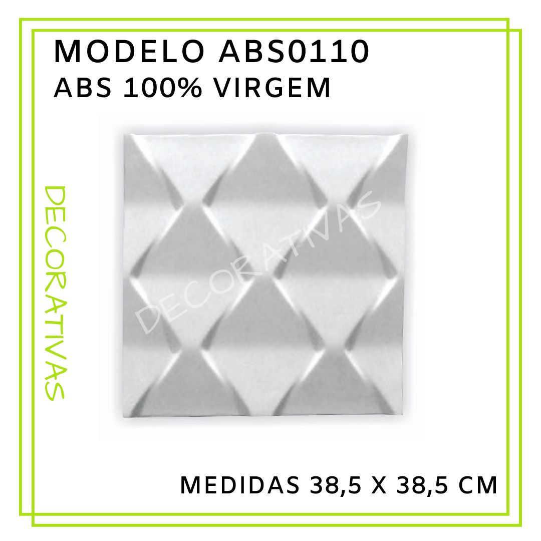 Modelo ABS0110 38,5 x 38,5 cm