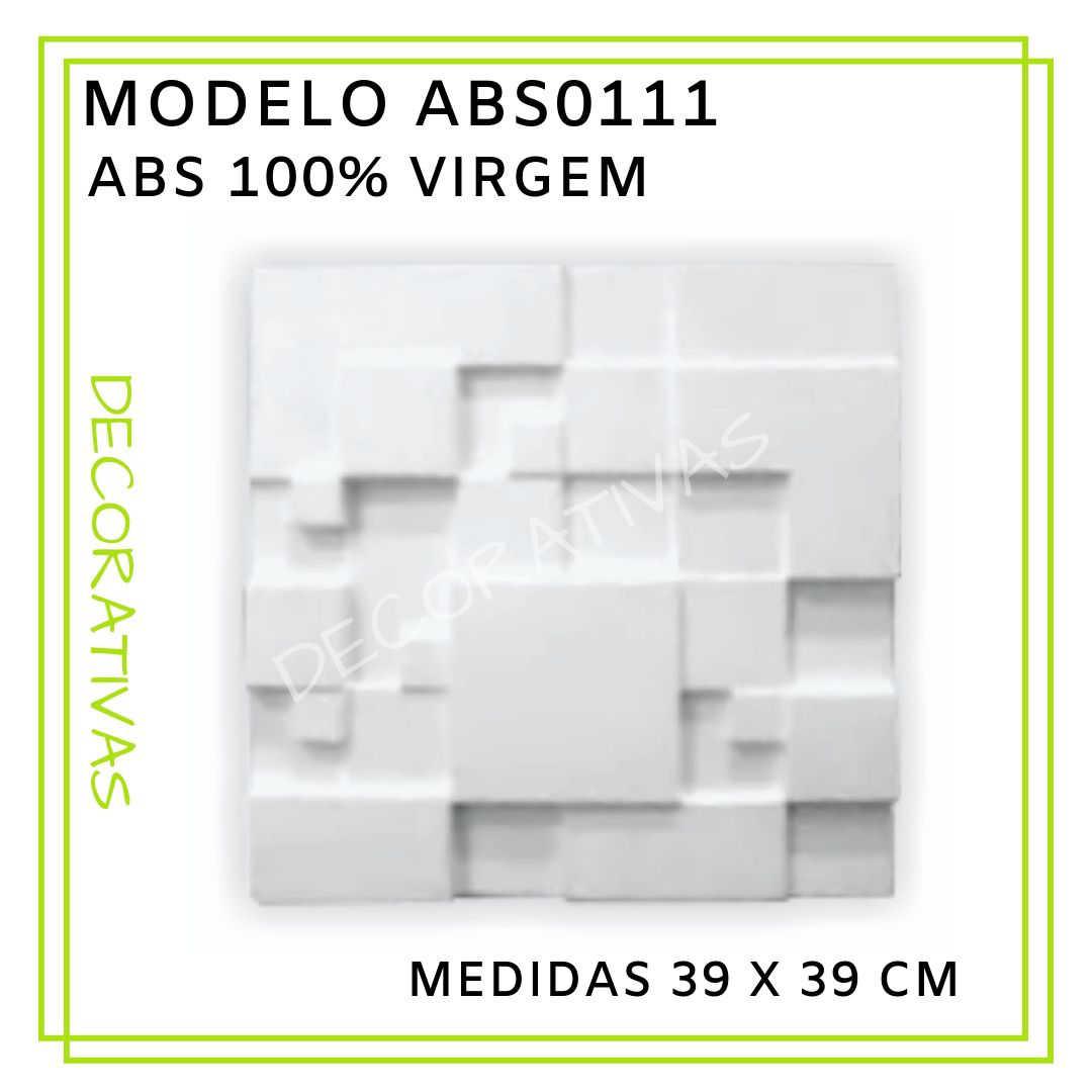 Modelo ABS0111 39 x 39 cm