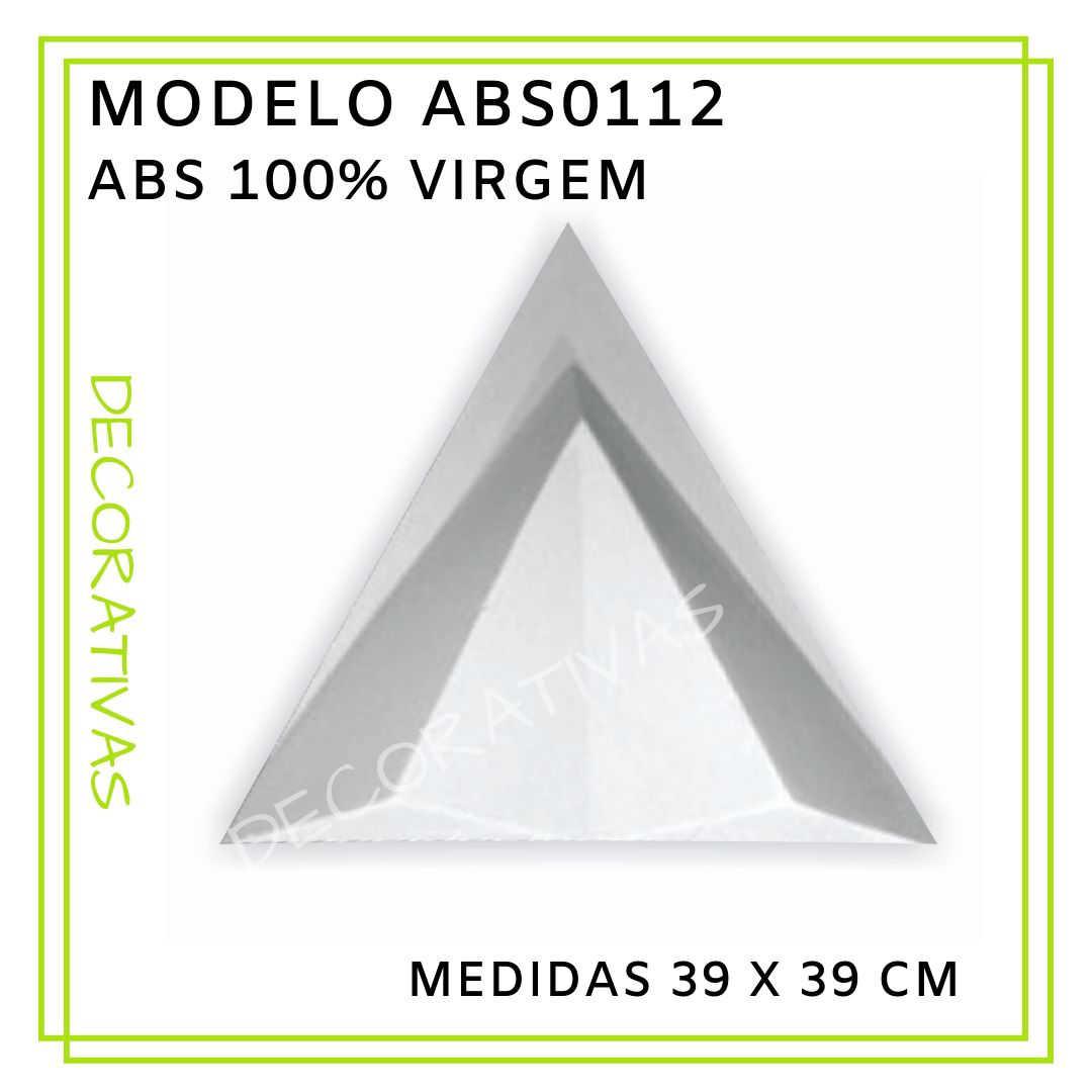 Modelo ABS0112 39 x 39 cm