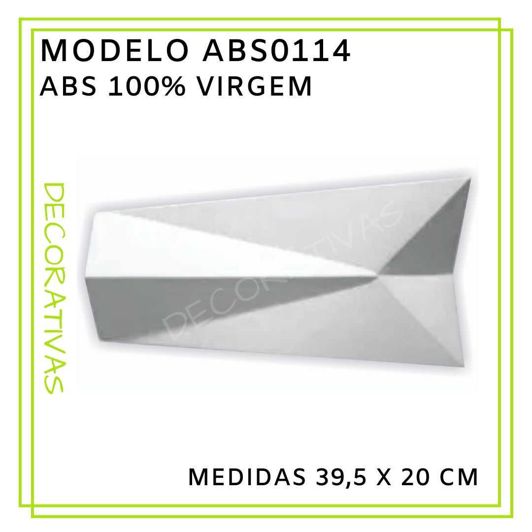 Modelo ABS0114 39,5 x 20 cm