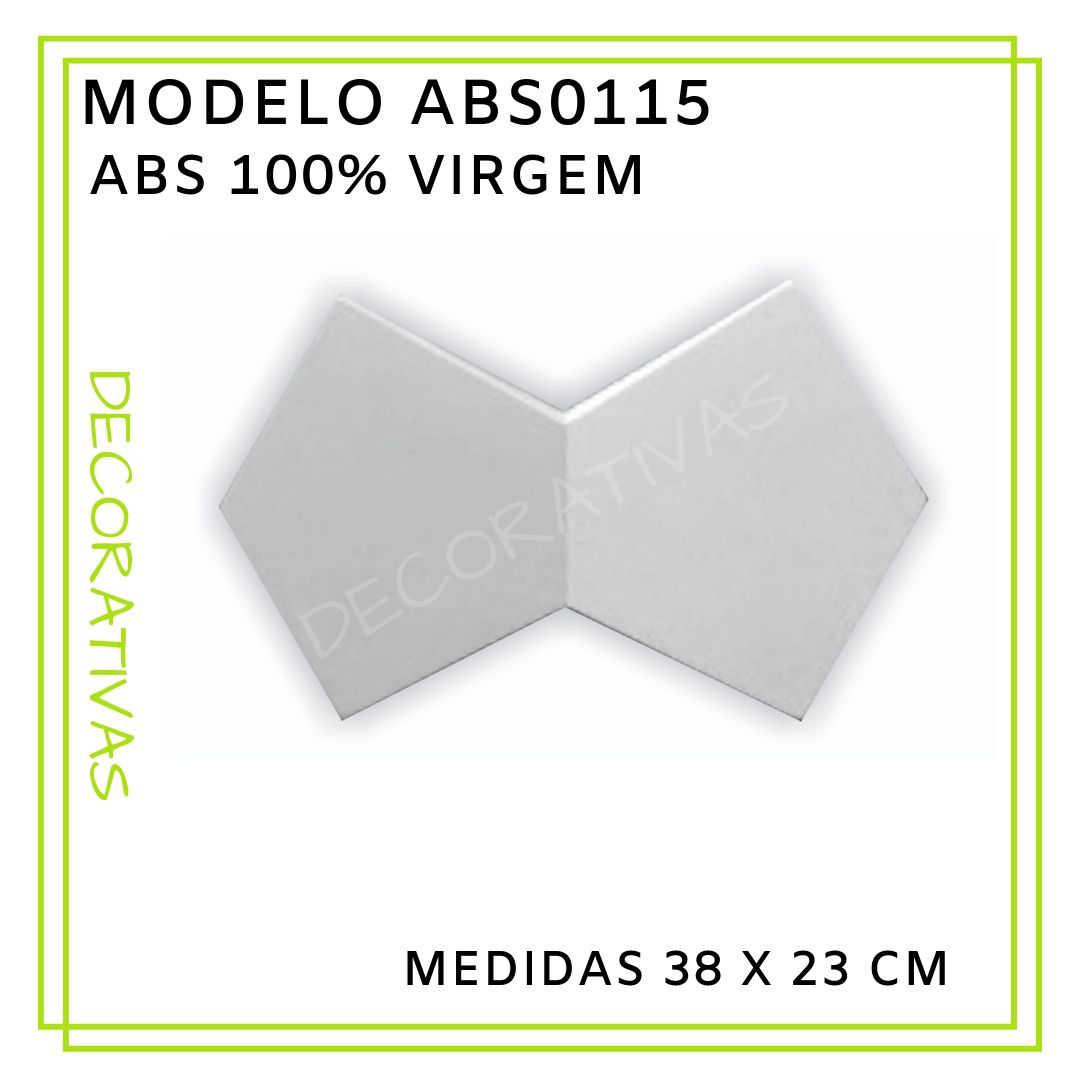 Modelo ABS0115 38 x 23 cm