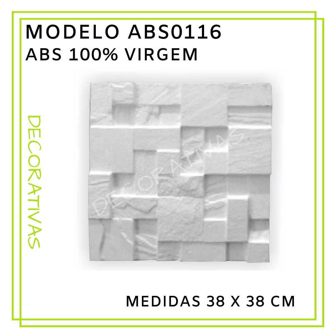 Modelo ABS0116 38 x 38 cm