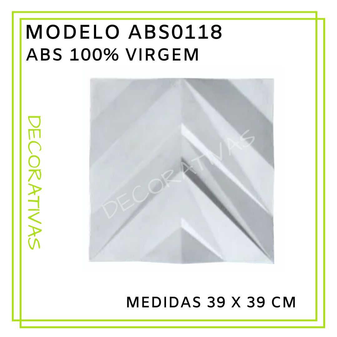 Modelo ABS0118 39 x 39 cm