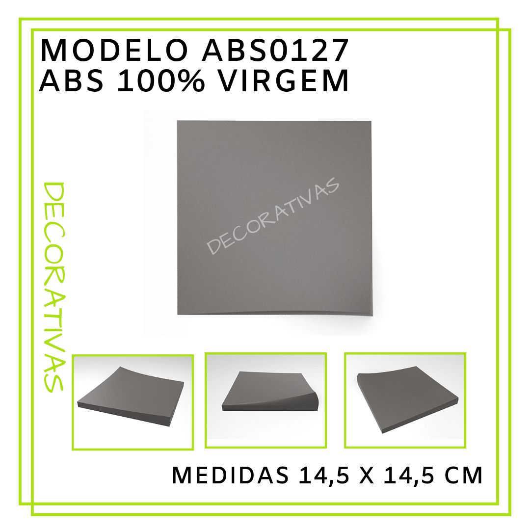Modelo ABS0127 14,5 x 14,5 cm